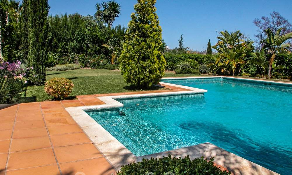 Exceptional villa with sea views for sale in Sierra Blanca, Golden Mile, Marbella 23075