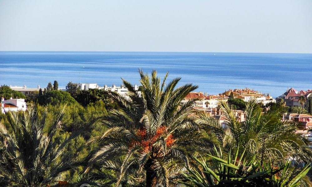 Exceptional villa with sea views for sale in Sierra Blanca, Golden Mile, Marbella 23084