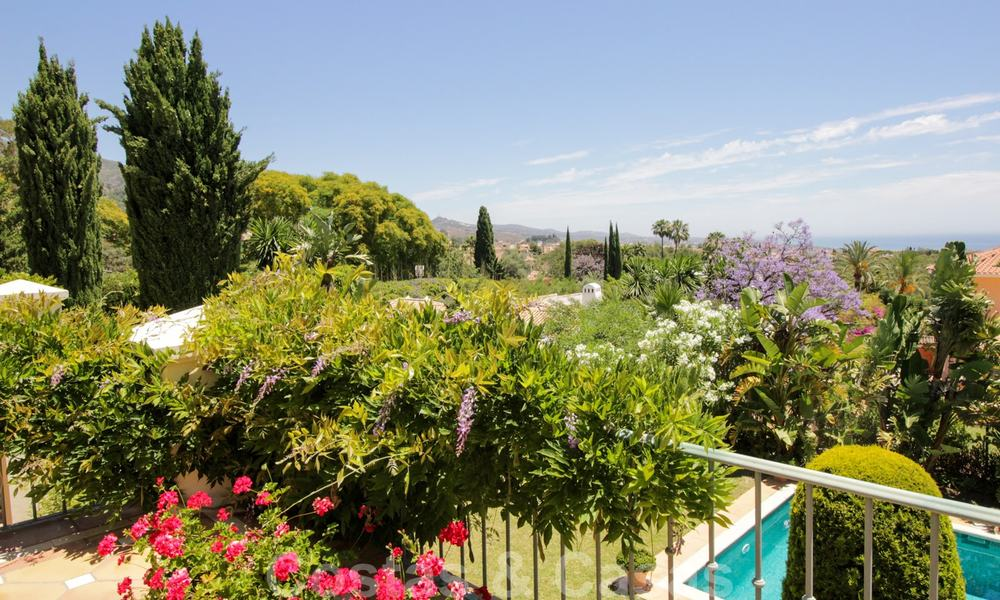 Exceptional villa with sea views for sale in Sierra Blanca, Golden Mile, Marbella 23095