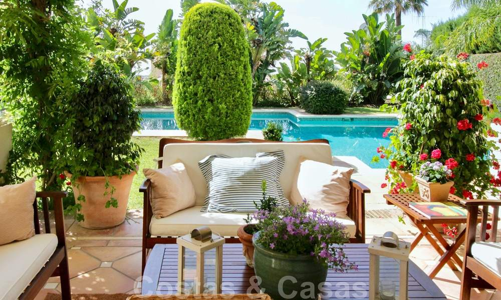 Exceptional villa with sea views for sale in Sierra Blanca, Golden Mile, Marbella 23101