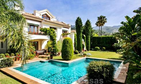 Exceptional villa with sea views for sale in Sierra Blanca, Golden Mile, Marbella 23103