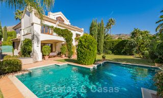 Exceptional villa with sea views for sale in Sierra Blanca, Golden Mile, Marbella 29090