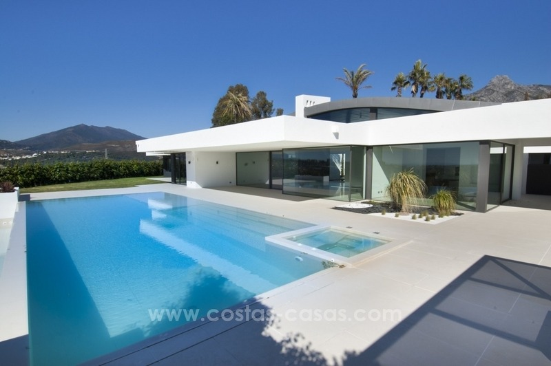 New Modern Villa for Sale on the Golden Mile in Marbella