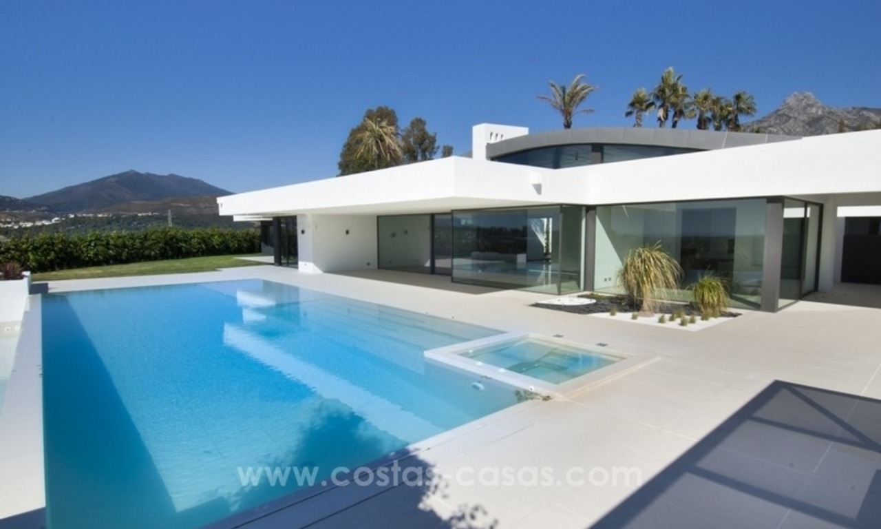 New Modern Villa for Sale on the Golden Mile in Marbella 0