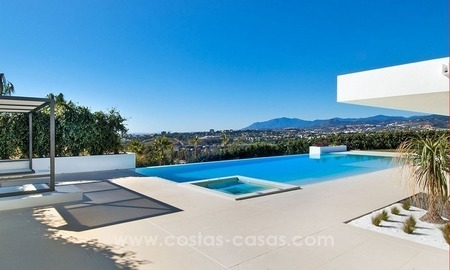 New Modern Villa for Sale on the Golden Mile in Marbella 1