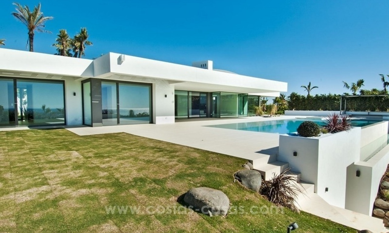 New Modern Villa for Sale on the Golden Mile in Marbella 7