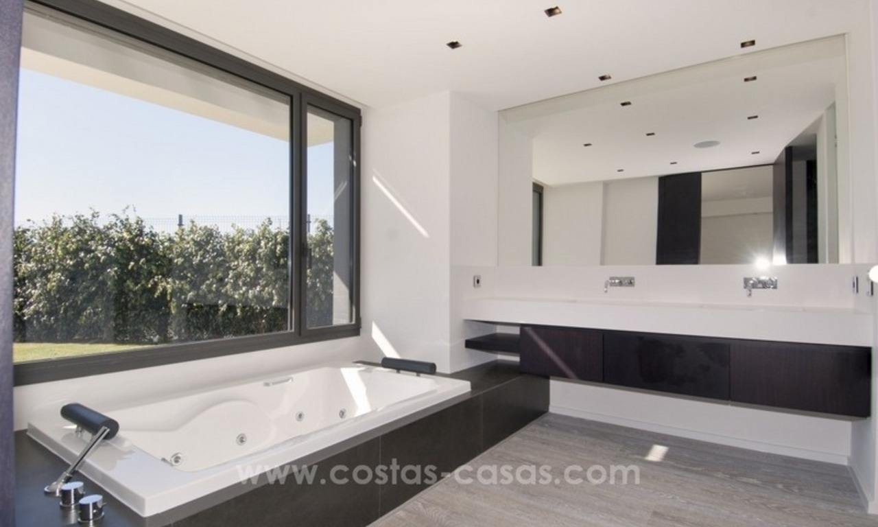 New Modern Villa for Sale on the Golden Mile in Marbella 21