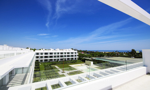 New contemporary apartments for sale on the New Golden Mile, between Marbella and Estepona 21253