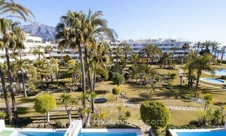 Exclusive apartment for sale in a beachfront complex in Puerto Banús - Marbella 2