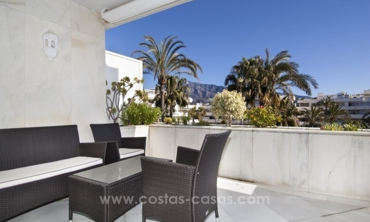 Exclusive apartment for sale in a beachfront complex in Puerto Banús - Marbella 5