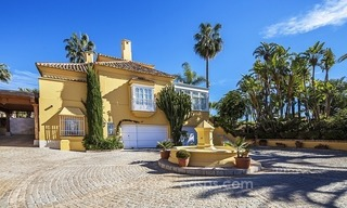 Palatial mansion for sale in exclusive urbanization of Sierra Blanca, Marbella 3