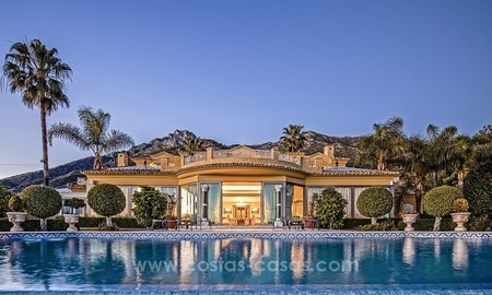Palatial mansion for sale in exclusive urbanization of Sierra Blanca, Marbella 0