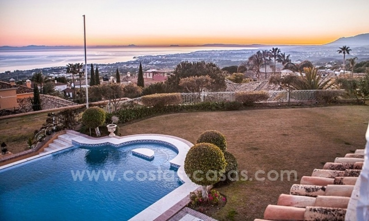 Palatial mansion for sale in exclusive urbanization of Sierra Blanca, Marbella 1