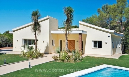 Fully renovated modern quality villa for sale in El Madroñal, Benahavis 0