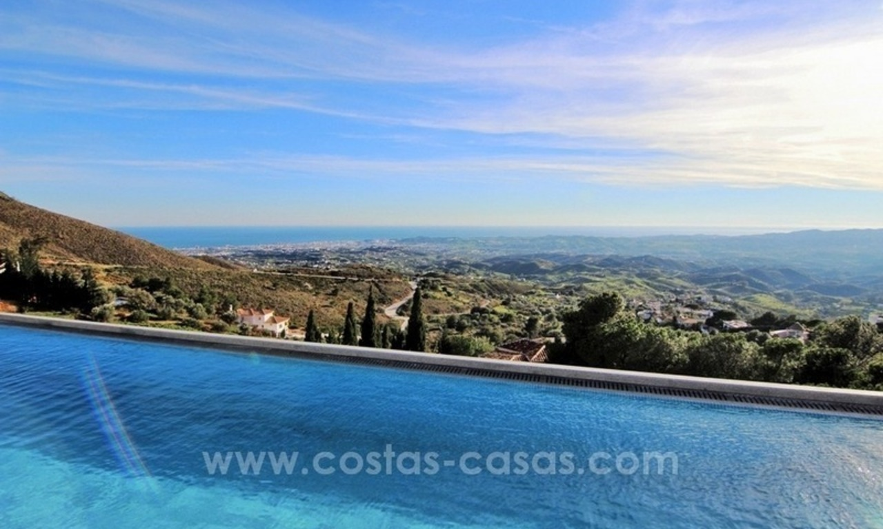 Very nice newly built and contemporary villa for sale in Mijas 1