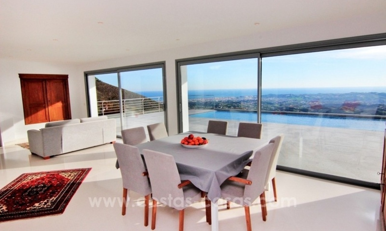 Very nice newly built and contemporary villa for sale in Mijas 8