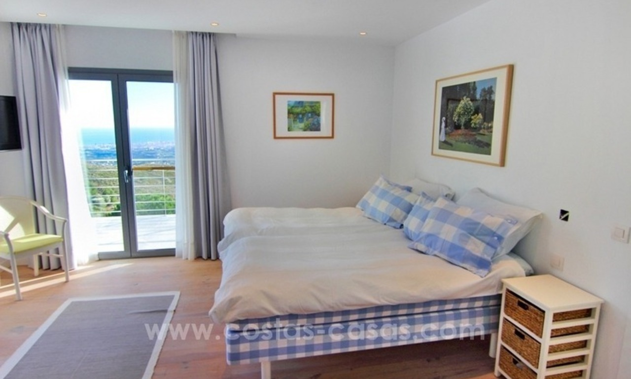 Very nice newly built and contemporary villa for sale in Mijas 13
