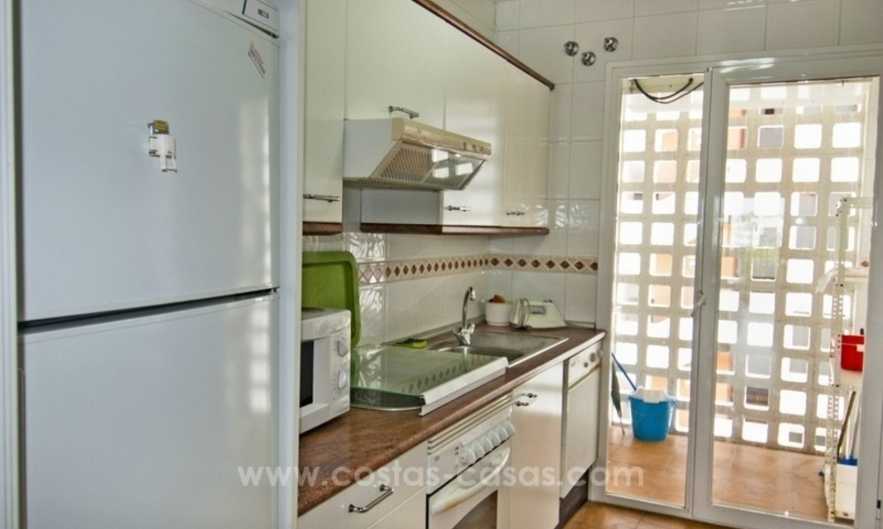 Perfect location!! Beachside apartment for sale in Puerto Banús 5