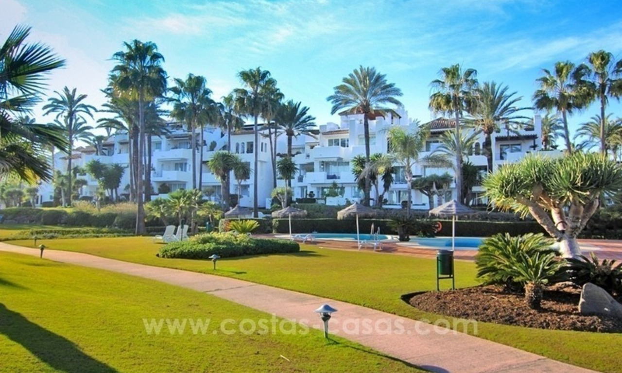 Spacious Beachfront Penthouse for Sale on the New Golden Mile, Estepona 2