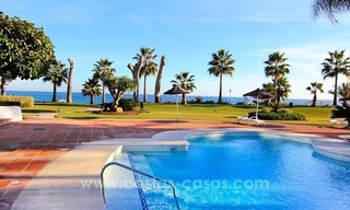 Spacious Beachfront Penthouse for Sale on the New Golden Mile, Estepona 0