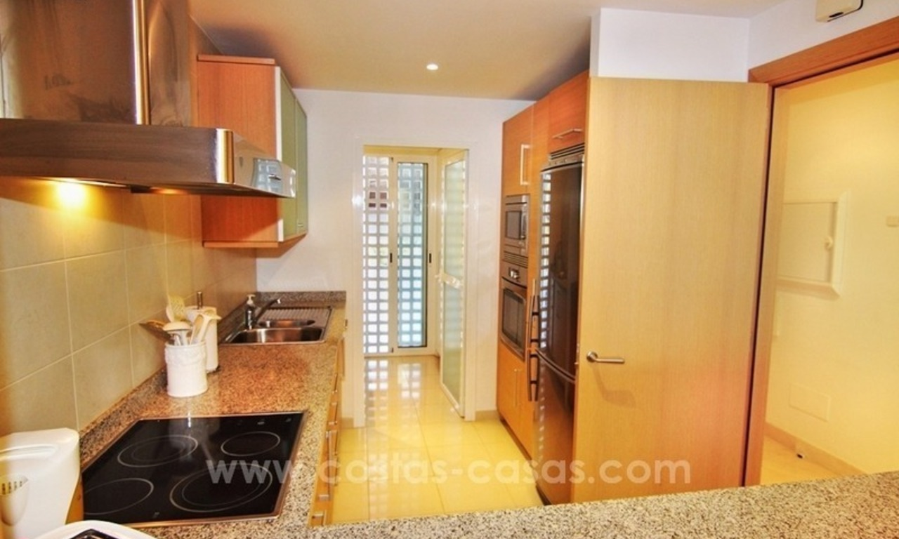 Spacious Beachfront Penthouse for Sale on the New Golden Mile, Estepona 13