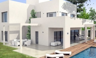 Newly built modern style villas for sale, beachside San Pedro Marbella 0