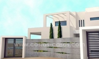 Newly built modern style villas for sale, beachside San Pedro Marbella 1
