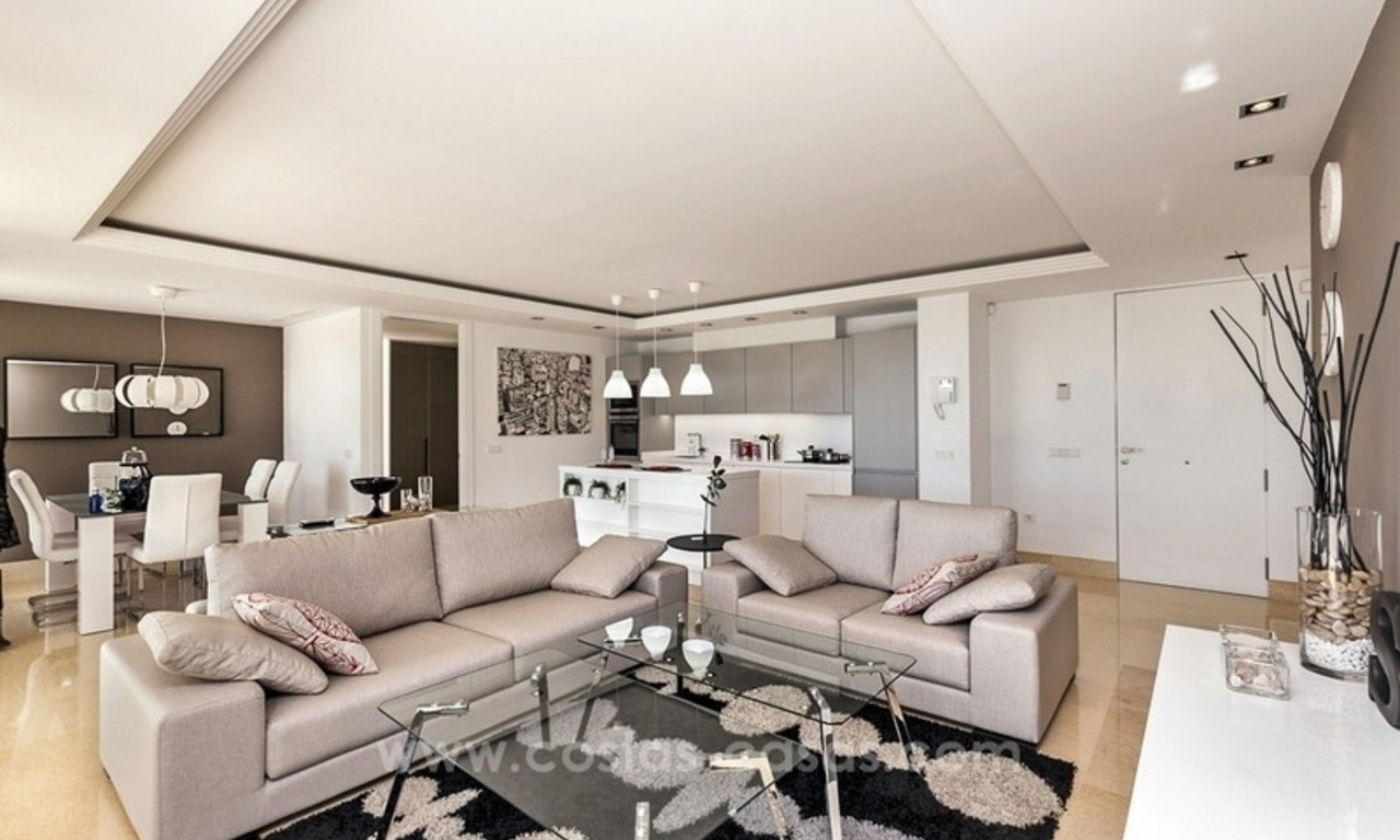 Modern new luxury apartment for sale in Nueva Andalucia – Marbella 4