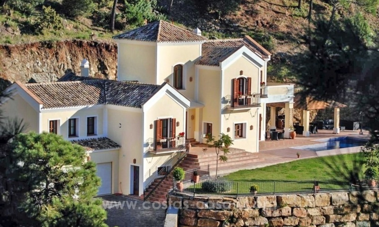 Luxury villa for sale in El Madroñal, Benahavis - Marbella 0