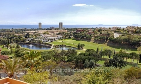 Front line golf apartments for sale in the East of Marbella