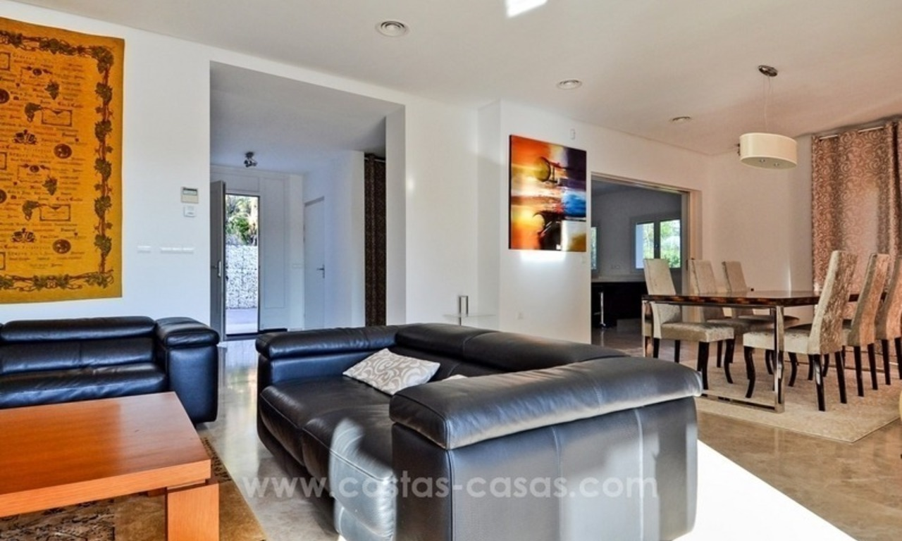 Bargain! Modern villa for sale in Elviria, Marbella east 24