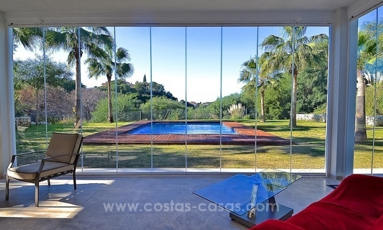 Bargain! Modern villa for sale in Elviria, Marbella east 17