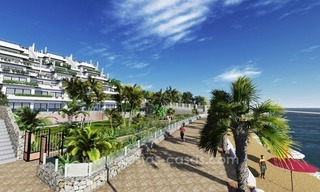 New luxury modern beachfront apartments for sale in Estepona 1