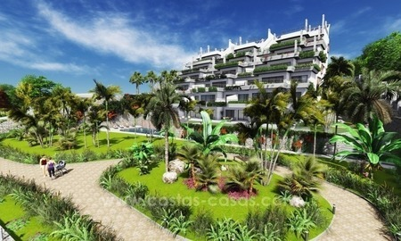 New luxury modern beachfront apartments for sale in Estepona 2
