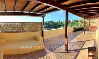 Luxury Penthouse apartment for sale in Sierra Blanca, Golden Mile near Marbella centre 1
