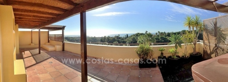 Luxury Penthouse apartment for sale in Sierra Blanca, Golden Mile near Marbella centre