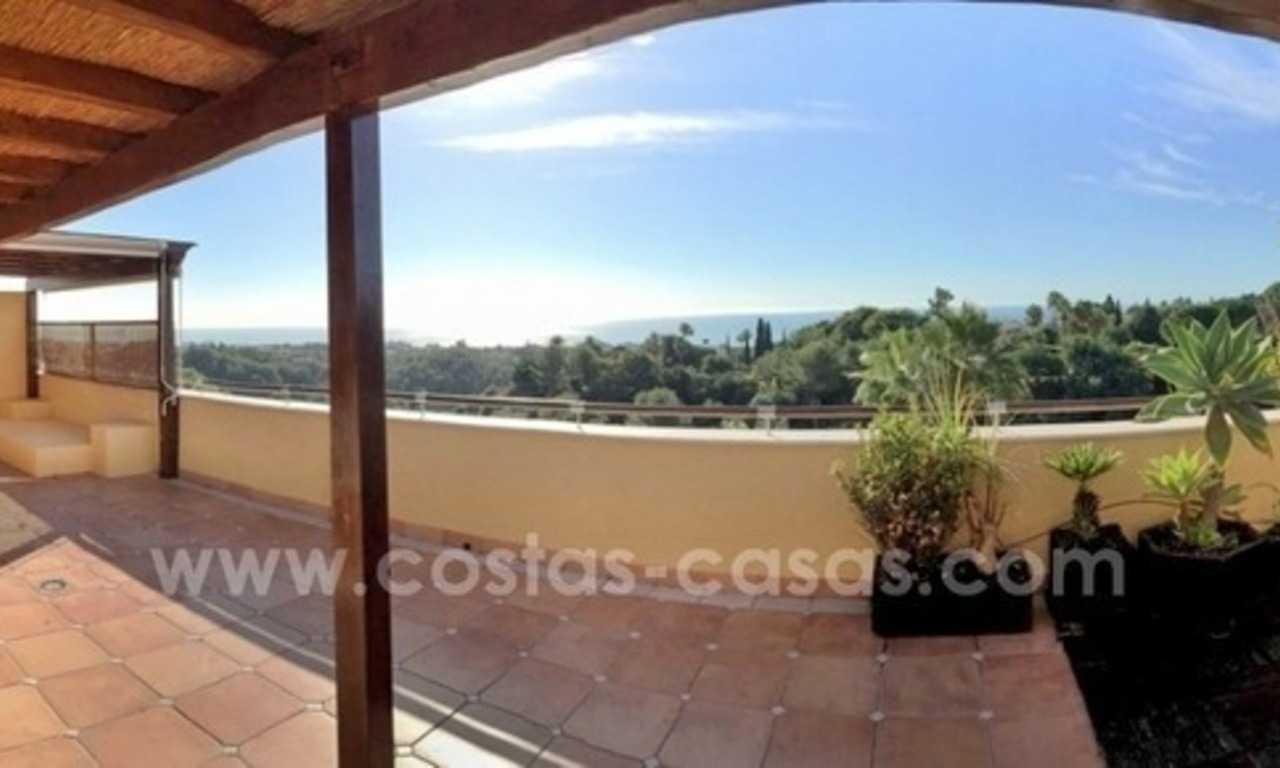 Luxury Penthouse apartment for sale in Sierra Blanca, Golden Mile near Marbella centre 0