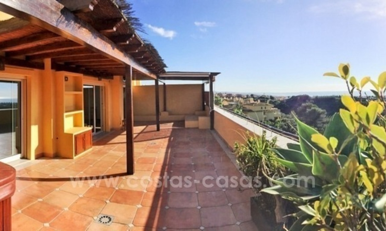 Luxury Penthouse apartment for sale in Sierra Blanca, Golden Mile near Marbella centre 2