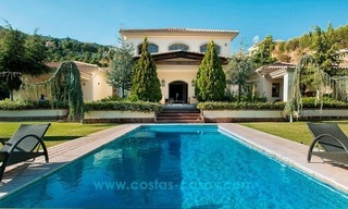 Contemporary villa for sale with classical architectural references, El Madroñal, Benahavis - Marbella 2
