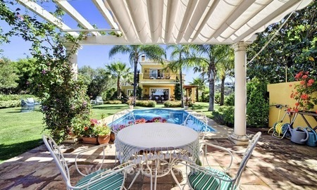 Villa for sale in Marbella East with beautiful panoramic sea view