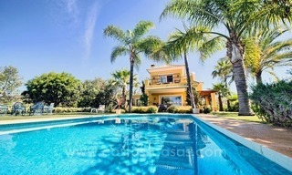 Villa for sale in Marbella East with beautiful panoramic sea view 1