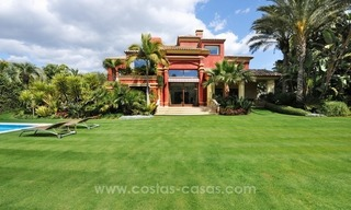 Luxury villa for sale on the Golden Mile, Marbella 1