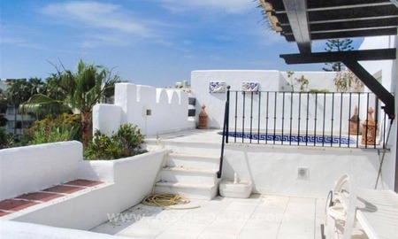 Opportunity! Bargain penthouse apartment for sale, beachside Puerto Banus, Marbella 2
