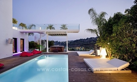Exclusive modern style villa for sale in the area of Marbella – Benahavis 2