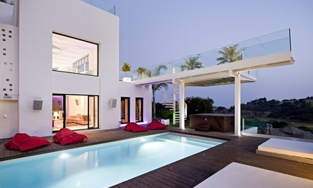 Exclusive modern style villa for sale in the area of Marbella – Benahavis 0