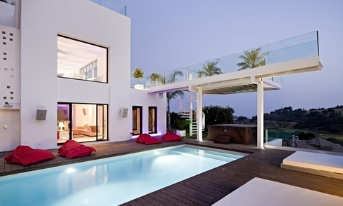 Exclusive modern style villa for sale in the area of Marbella – Benahavis