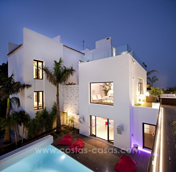 Exclusive modern style villa for sale in the area of Marbella – Benahavis 1