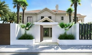 Contemporary style new villa for sale in Marbella Club on the Golden Mile 3