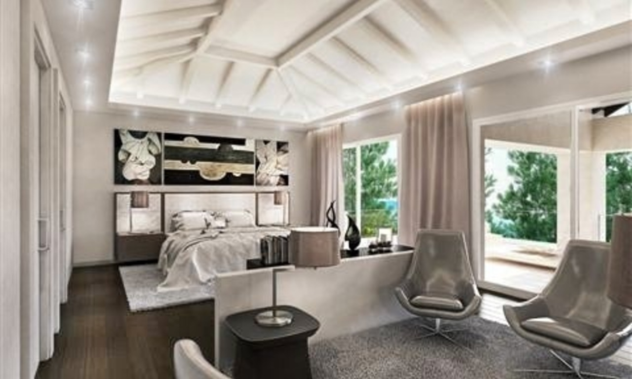 Contemporary style new villa for sale in Marbella Club on the Golden Mile 8