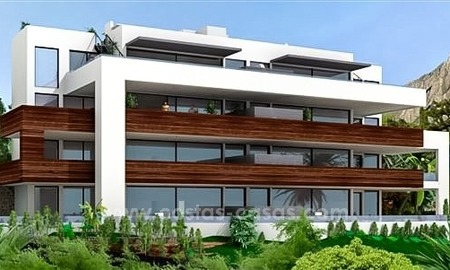 Luxury New Modern Apartments for Sale, Golden Mile, Marbella